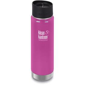 Klean Kanteen Wide Vacuum Insulated Gourde Bouchon Café 2.0 592ml, rose